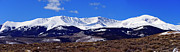 Mt Elbert Framed Prints - Half-a-Mtn Panorama Framed Print by Jeremy Rhoades