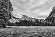 Chuck Kuhn Prints - Half Dome 8 Print by Chuck Kuhn