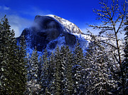 Bill Gallagher Photography Prints - Half Dome Clearing Print by Bill Gallagher