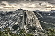 Chuck Kuhn Prints - Half Dome Enhanced I Print by Chuck Kuhn