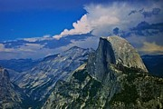 Half Dome From Glacier Point Print by Eric Tressler