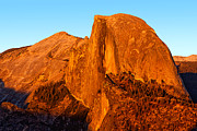 Half Dome Photos - Half Dome Glow by Peter Tellone