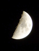 Ron Roberts Photography Greeting Cards Prints - Half Moon Print by Ron Roberts