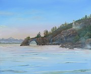 North Sea Paintings - Halibut Cove by William Stewart