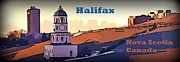 Halifax Photography Prints - Halifax Nova Scotia Print by  Halifax Artist John Malone