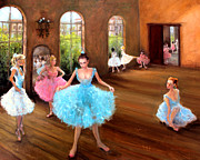 Plaster Of Paris Painting Prints - Hall of Dance Print by Graham Keith