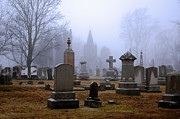 Grave Photo Originals - Hallowed Ground by Joe Geraci