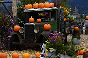 Old Trucks Photos - Halloween 1 by Bob Christopher