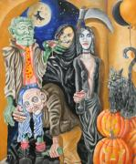 Grim Paintings - Halloween by Don Martinelli