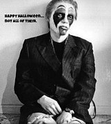 Sad Greeting Cards Prints - Halloween Let Down Print by John Malone