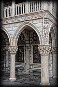 Byzantine Metal Prints - Hallways of St. Marks Metal Print by Lee Dos Santos