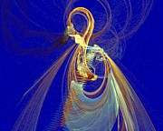Vivacious Digital Art - Halo Spirit by Jeanne Liander