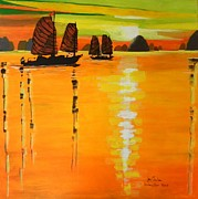 Halong Bay  Print by Jolanta Shiloni