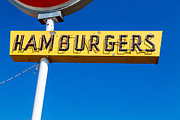 West Yellowstone Photos - Hamburgers by Edward Fielding