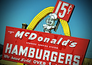 Mcdonalds Art - Hamburgers by Kevin Klima