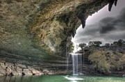 Hamilton Texas Prints - Hamilton Pools 1 Print by Hrayr Galoyan