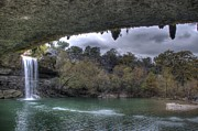 Hamilton Texas Prints - Hamilton Pools 3 Print by Hrayr Galoyan