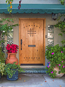 Hand Crafted Art - Hand Crafted Wooden Door by David  Zanzinger
