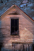 Haunted House Photo Prints - Hand in Window Print by Jill Battaglia