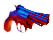Mark Preston Metal Prints - Handgun. Metal Print by Mark Preston