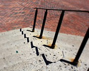 Boston Ma Prints - Handrail Print by Pamela Walters