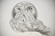 Hands Holding Cristal Ball Print by Glenn Calloway