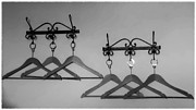 Housekeeping Prints - Hangers Print by Dany Lison