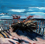Gulf Of Mexico Painting Originals - Hanging at Saint Joe Peninsula State Park by Charlie Spear