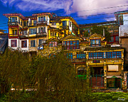 Vida Posters - Hanging Houses of Cuenca Poster by Paul Wolf