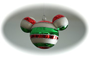 Disney Photographs Prints - Hanging Mickey Ears Print by Thomas Woolworth