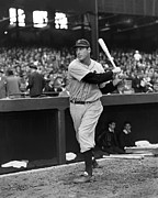 Hank Greenberg Outside Dug Out Print by Retro Images Archive