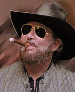 Williams Photo Originals - Hank Williams Jr by Don Olea