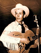 Hall Of Fame Posters - Hank Williams Sr. Poster by Pg Reproductions