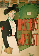 Harper Mixed Media - Hapers August 1897  by Ira Shander