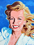 Hollywood Legends Painting Originals - Happier Days by Darrell Sheppard