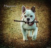 Happiness Is Print by Jordan Blackstone