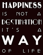Happiness Digital Art Posters - Happiness Poster by Nomad Art And  Design