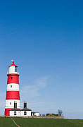 Paul Lilley Framed Prints - Happisburgh Lighthouse Framed Print by Paul Lilley