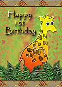 Jeanette K - Happy 1st Birthday Giraffe