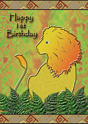 Jeanette K - Happy 1st Birthday Lion