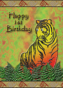 Jeanette K - Happy 1st Birthday Tiger