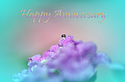 Blend Prints - Happy Anniversary Print by Kaye Menner