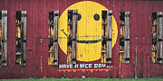 Daviess County Photo Metal Prints - Happy Barn Metal Print by Wendell Thompson
