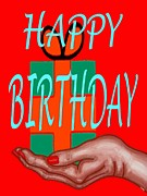 Happy Birthday 3 Print by Patrick J Murphy