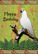 Jeanette K - Happy birthday Cockatoo