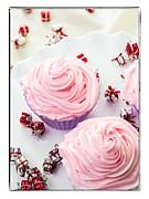 Happy Birthday Cupcakes Print by Edward Fielding
