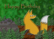 Jeanette K - Happy Birthday Fox