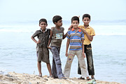 Youthful Photo Originals - Happy children  by Saju S
