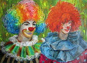 Jieming Wang - Happy clowns