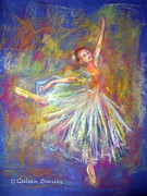 Dancer Pastels Originals - Happy Dancer by Gulsen Beasley